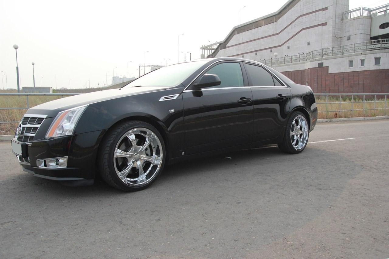 Заказ автомобиля Cadillac CTS