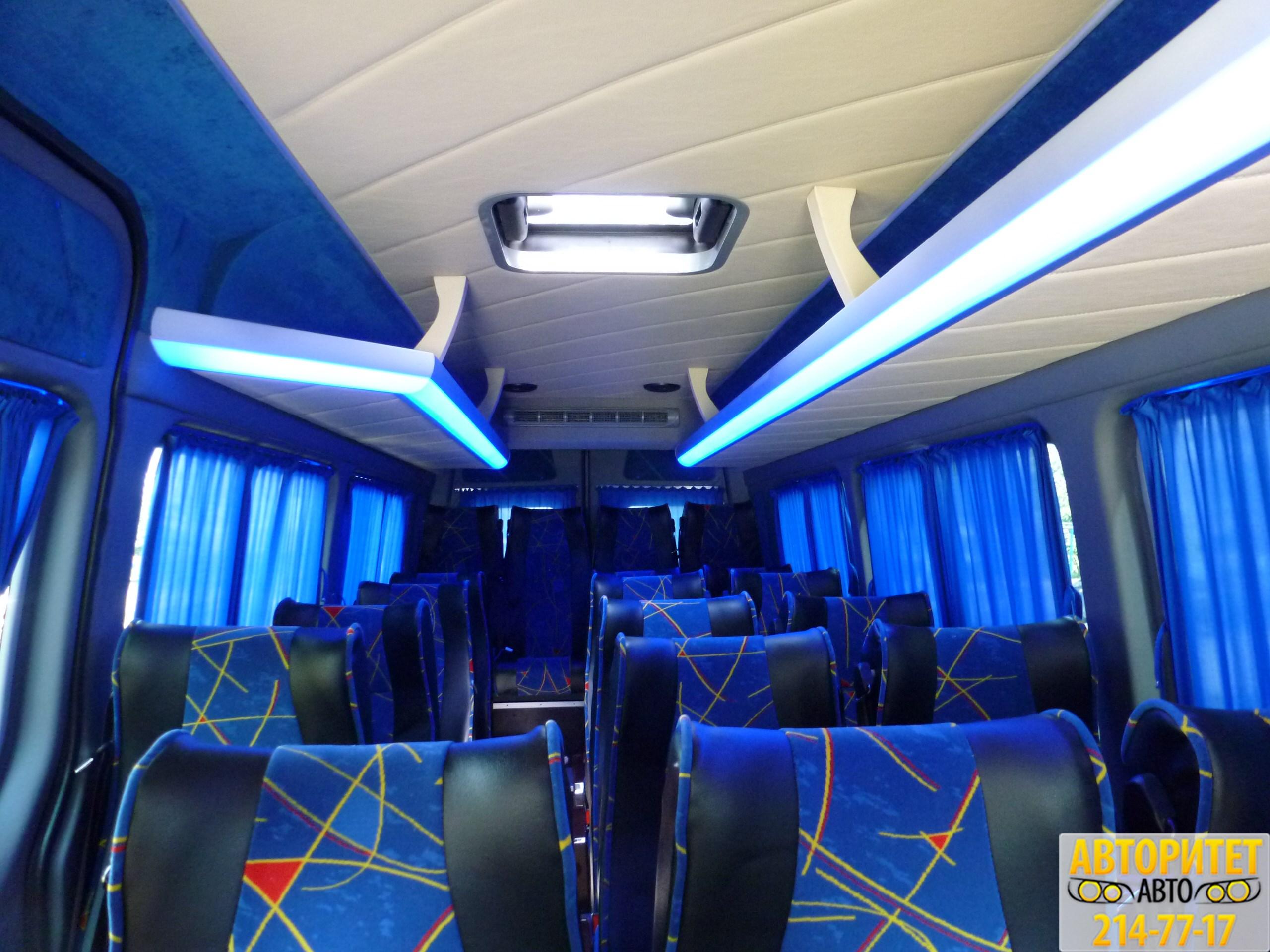 Заказ в Новосибирск микроавтобуса